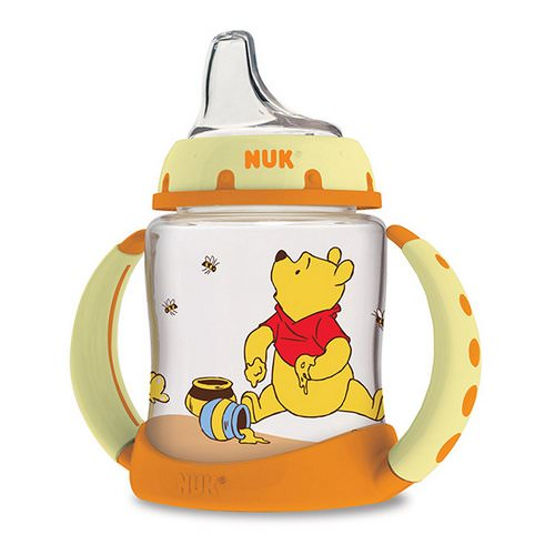 NUK, Disney Baby, Winnie The Pooh Learner Cup, 6+ Months, 1 Cup, 5 oz (150ml) Review