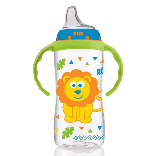 NUK, Large Learner Cup, 9+ Months, Jungle Boy, 1 Cup, 10 oz (300 ml) Review