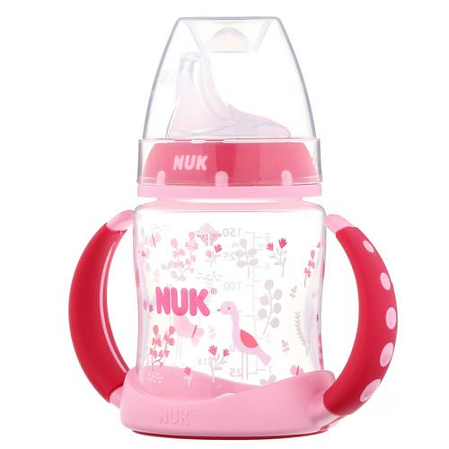 NUK, Learner Cup, 6+ Months, Pink, 1 Cup, 5 oz (150 ml) Review