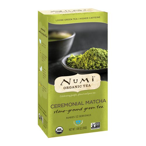 Numi Tea, Organic Tea, Loose Green Tea, Ceremonial Matcha, 1.06 oz (30 g) Review