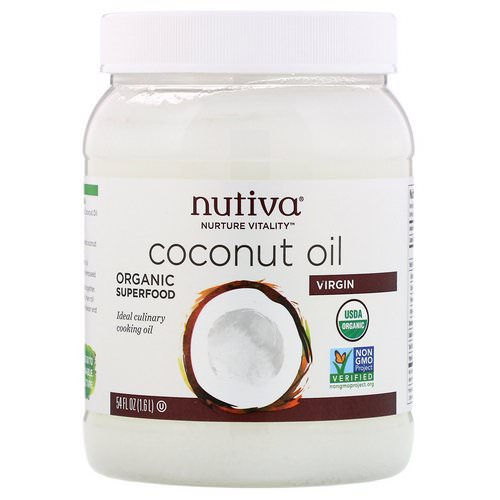 Nutiva, Organic Coconut Oil, Virgin, 54 fl oz (1.6 L) Review