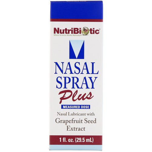 NutriBiotic, Nasal Spray Plus with Grapefruit Seed Extract, 1 fl oz (29.5 ml) Review