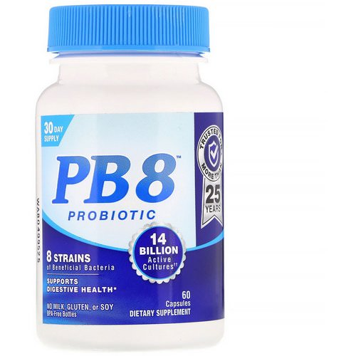 Nutrition Now, PB8, Probiotic, 60 Capsules Review