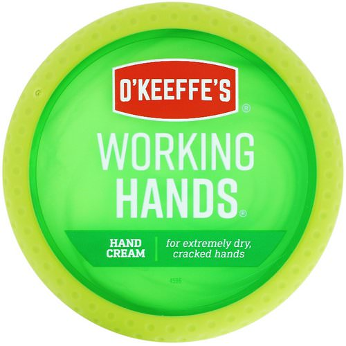 O'Keeffe's, Working Hands, Hand Cream, 3.4 oz (96 g) Review