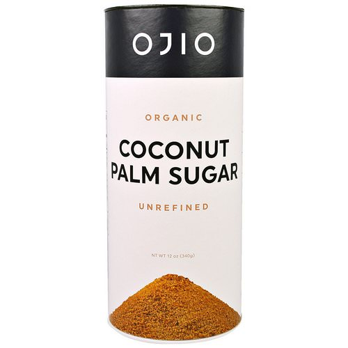 Ojio, Organic Coconut Palm Sugar, Unrefined, 12 oz (340 g) Review
