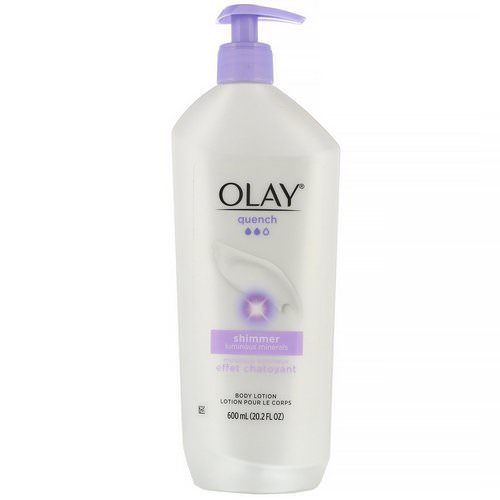 Olay, Quench, Shimmer Body Lotion, 20.2 fl oz (600 ml) Review
