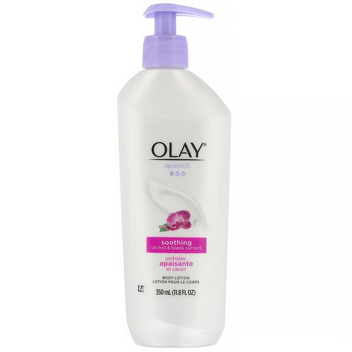 Olay, Quench, Soothing Body Lotion, Orchid & Black Currant, 11.8 fl oz (350 ml) Review