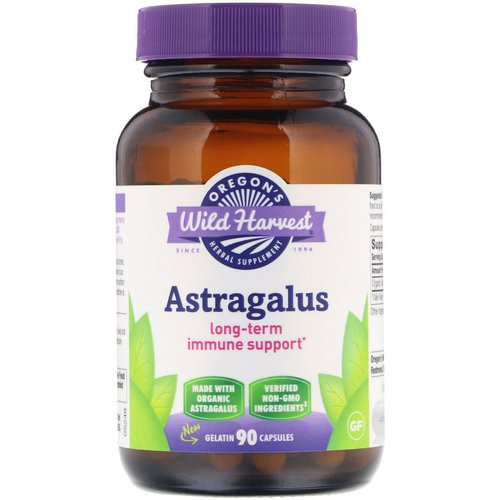 Oregon's Wild Harvest, Astragalus, 90 Gelatin Capsules Review