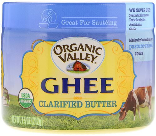 Organic Valley, Ghee Clarified Butter, 7.5 oz (212 g) Review