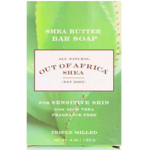 Out of Africa, Shea Butter Bar Soap, With Aloe Vera, Fragrance Free, 4 oz (120 g) Review