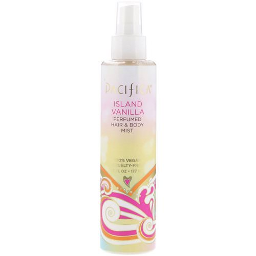 Pacifica, Island Vanilla Perfumed Hair & Body Mist, 6 fl oz (177 ml) Review