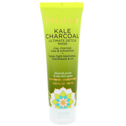 Pacifica, Kale Charcoal, Ultimate Detox Mask, 2.25 fl oz (66 ml) Review