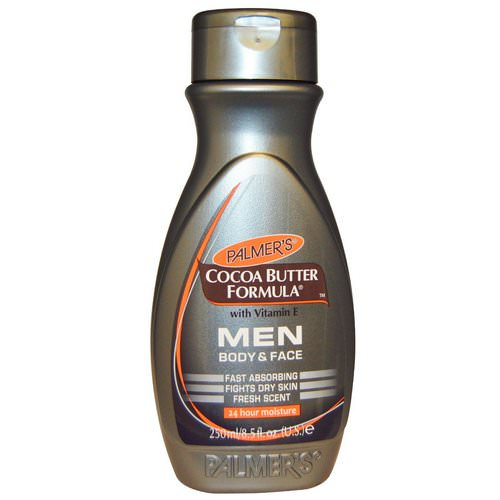 Palmer's, Cocoa Butter Formula with Vitamin E, Body & Face, Men, 8.5 fl oz (250 ml) Review