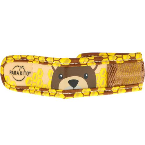 Para'kito, Mosquito Repellent Band + 2 Pellets, Kids, Brown Bear, 3 Piece Set Review