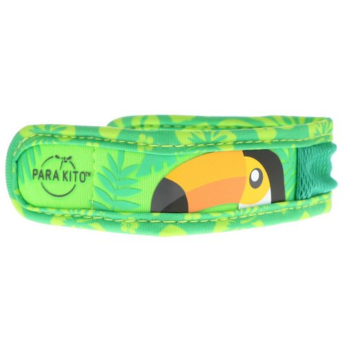 Para'kito, Mosquito Repellent Band + 2 Pellets, Kids, Orange Beak, 3 Piece Set Review