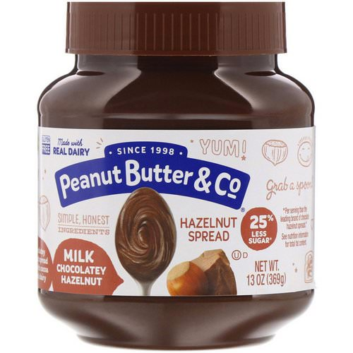 Peanut Butter & Co, Hazelnut Spread, Milk Chocolatey Hazelnut, 13 oz (369 g) Review
