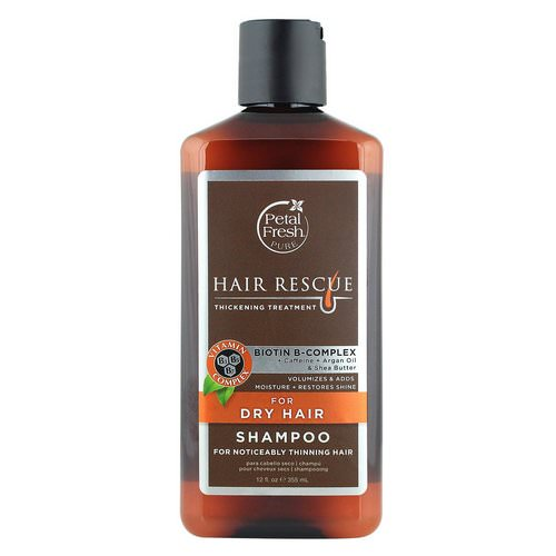 Petal Fresh, Pure, Hair Rescue, Thickening Treatment Shampoo, for Dry Hair, 12 fl oz (355 ml) Review