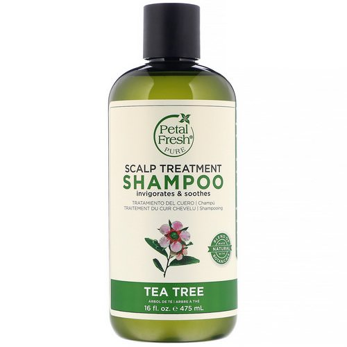 Petal Fresh, Pure, Scalp Treatment Shampoo, Tea Tree, 16 fl oz (475 ml) Review