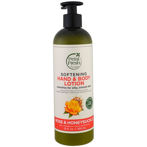Petal Fresh, Pure, Softening Hand & Body Lotion, Rose & Honeysuckle, 12 fl oz (355 ml) Review