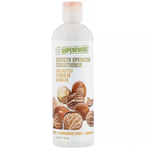 Petal Fresh, Pure, SuperFoods, Smooth Operator Conditioner, Shea Butter, Vitamin B6 & Argan Oil, 12 fl oz (355 ml) Review
