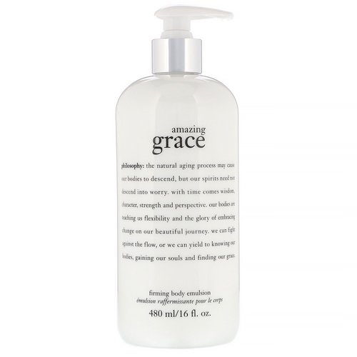 Philosophy, Amazing Grace, Firming Body Emulsion, 16 fl oz (480 ml) Review