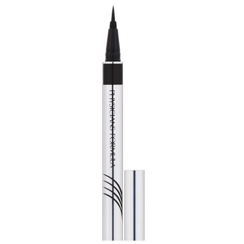 Physicians Formula, Eye Booster, Ultra Fine Liquid Eyeliner with Lash Conditioning Serum, Ultra Black, 0.016 fl oz (0.5 ml) Review