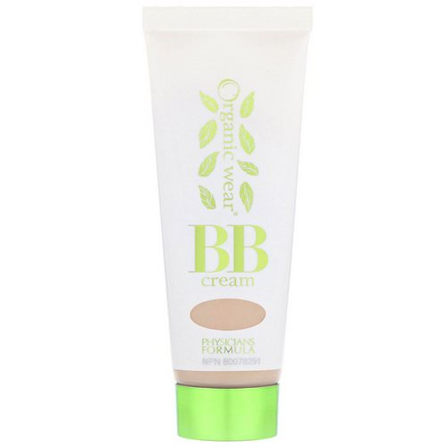 Physicians Formula, Organic Wear, BB All-in-1 Beauty Balm Cream, SPF 20, Light/Medium, 1.2 fl oz (35 ml) Review