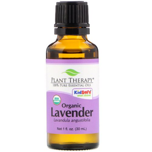 Plant Therapy, 100% Pure Essential Oils, Organic Lavender, 1 fl oz (30 ml) Review