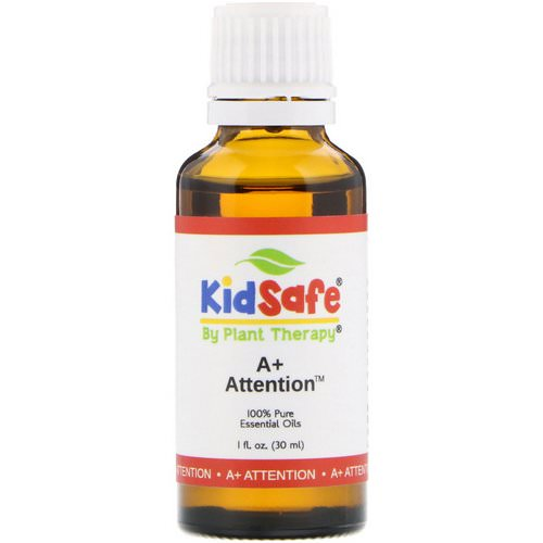 Plant Therapy, KidSafe, 100% Pure Essential Oil, A+ Attention, 1 fl oz (30 ml) Review