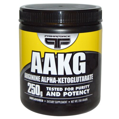 Primaforce, AAKG, Arginine Alpha-Ketoglutarate, Unflavored, 250 g Review
