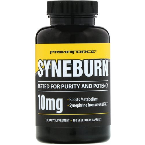 Primaforce, Syneburn, 10 mg, 180 Vegetarian Capsules Review