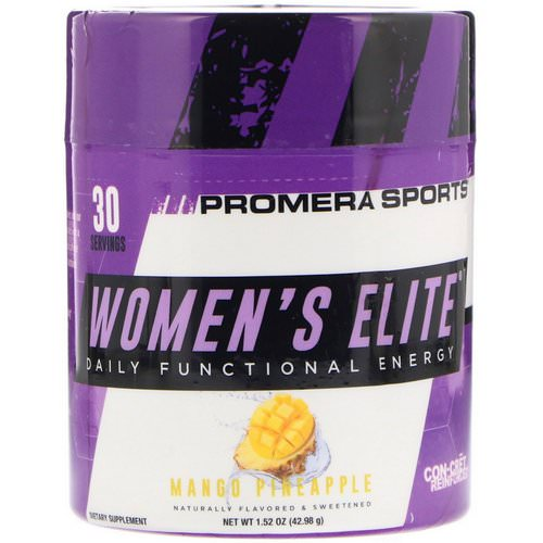 Promera Sports, Women's Elite, Daily Functional Energy, Mango Pineapple, 1.52 oz (42.98 g) Review