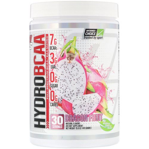 ProSupps, Hydro BCAA, Dragon Fruit, 15.6 oz (441 g) Review