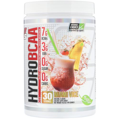 ProSupps, Hydro BCAA, Miami Vice, 15.6 oz (441 g) Review