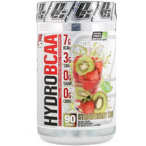 ProSupps, Hydro BCAA, Strawberry Kiwi, 46.6 oz (1323 g) Review
