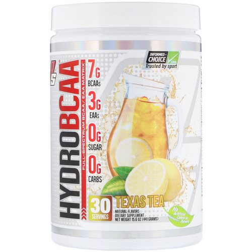 ProSupps, Hydro BCAA, Texas Tea, 15.6 oz (441 g) Review
