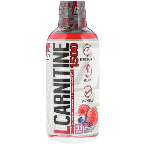 ProSupps, L-Carnitine 1500, Berry, 16 fl oz (473 ml) Review