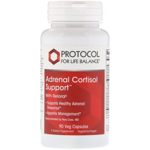 Protocol for Life Balance, Adrenal Cortisol Support, 90 Veg Capsules Review