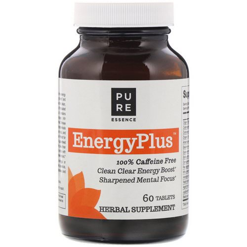 Pure Essence, EnergyPlus, 100% Caffeine Free, 60 Tablets Review