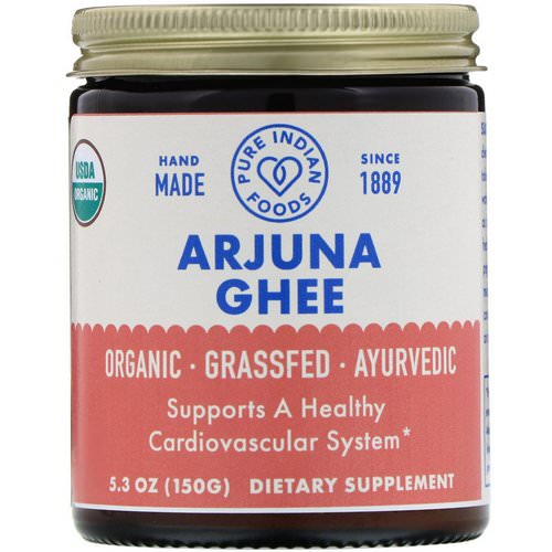 Pure Indian Foods, Organic Arjuna Ghee, 5.3 oz (150 g) Review