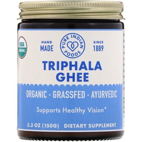 Pure Indian Foods, Organic Triphala Ghee, 5.3 oz (150 g) Review