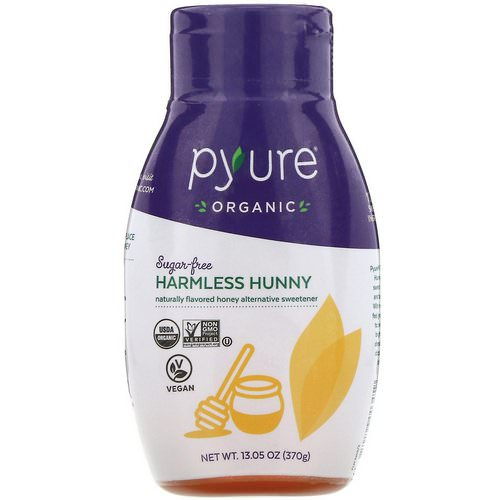 Pyure, Organic Harmless Hunny, Sugar Free Honey Alternative Sweetener, 13.05 oz (370 g) Review