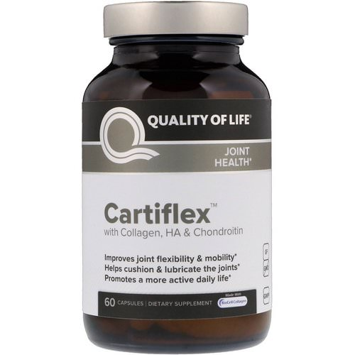 Quality of Life Labs, Cartiflex, 60 Capsules Review