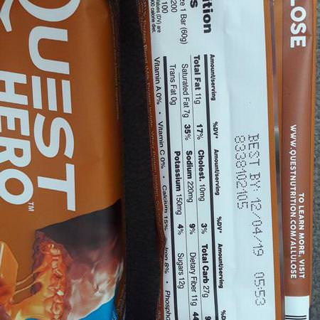 Quest Nutrition Milk Protein Bars Whey Protein Bars