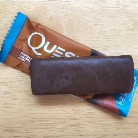 Quest Nutrition, Hero Protein Bar, Chocolate Caramel Pecan, 10 Bars, 2.12 oz (60 g) Each