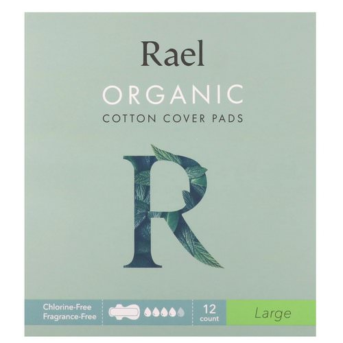 Rael, Organic Cotton Cover Pads, Large, 12 Count Review