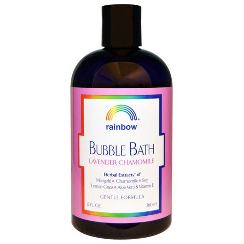 Rainbow Research, Bubble Bath, Lavender Chamomile, Gentle Formula, 12 fl oz (360 ml) Review