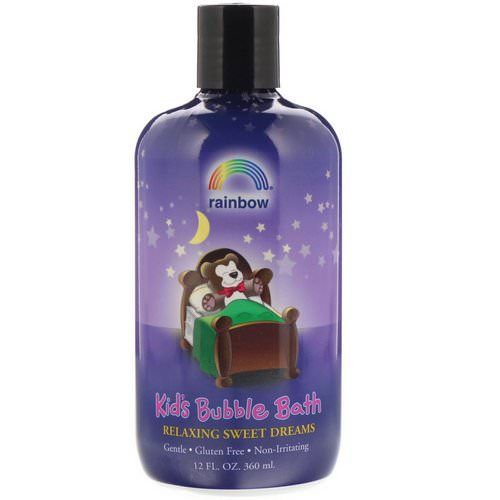 Rainbow Research, Kids Bubble Bath, Relaxing Sweet Dreams, 12 fl oz (360 ml) Review