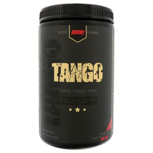 Redcon1, Tango Recovery, Strawberry Kiwi, 14.1 oz (401.85 g) Review