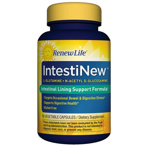 Renew Life, IntestiNew, 90 Vegetable Capsules Review